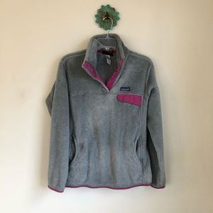 Patagonia • snap T fleece pullover sweatshirt